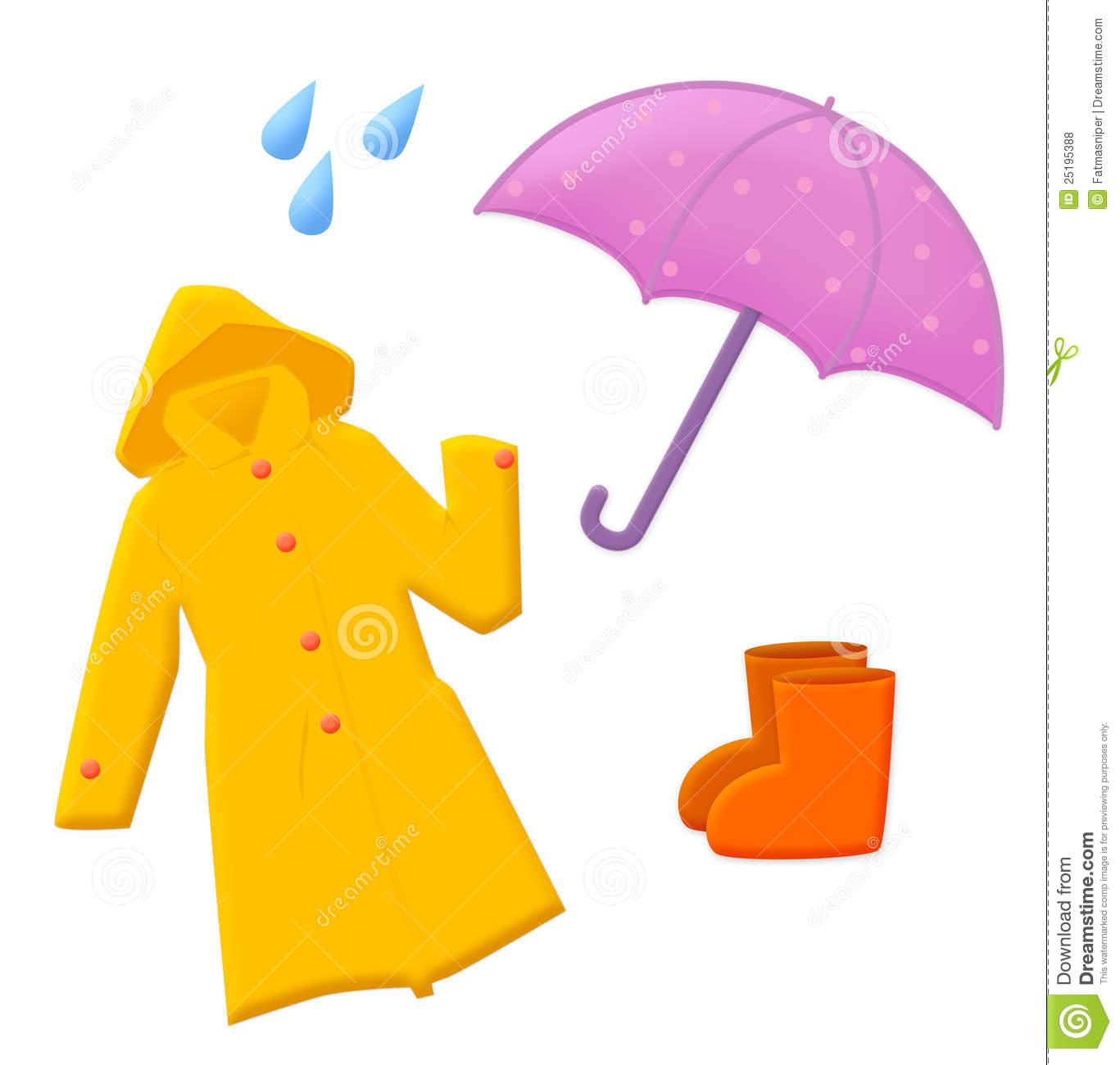 1367x1300 Rain Gear Clipart