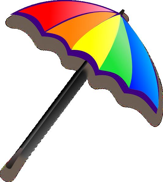 534x595 Rain Clipart On Beach
