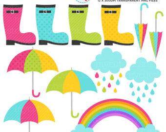 340x270 Rainbow Clip Art, Rain Cloud, Raindrops Clipart Png File 300 Dpi