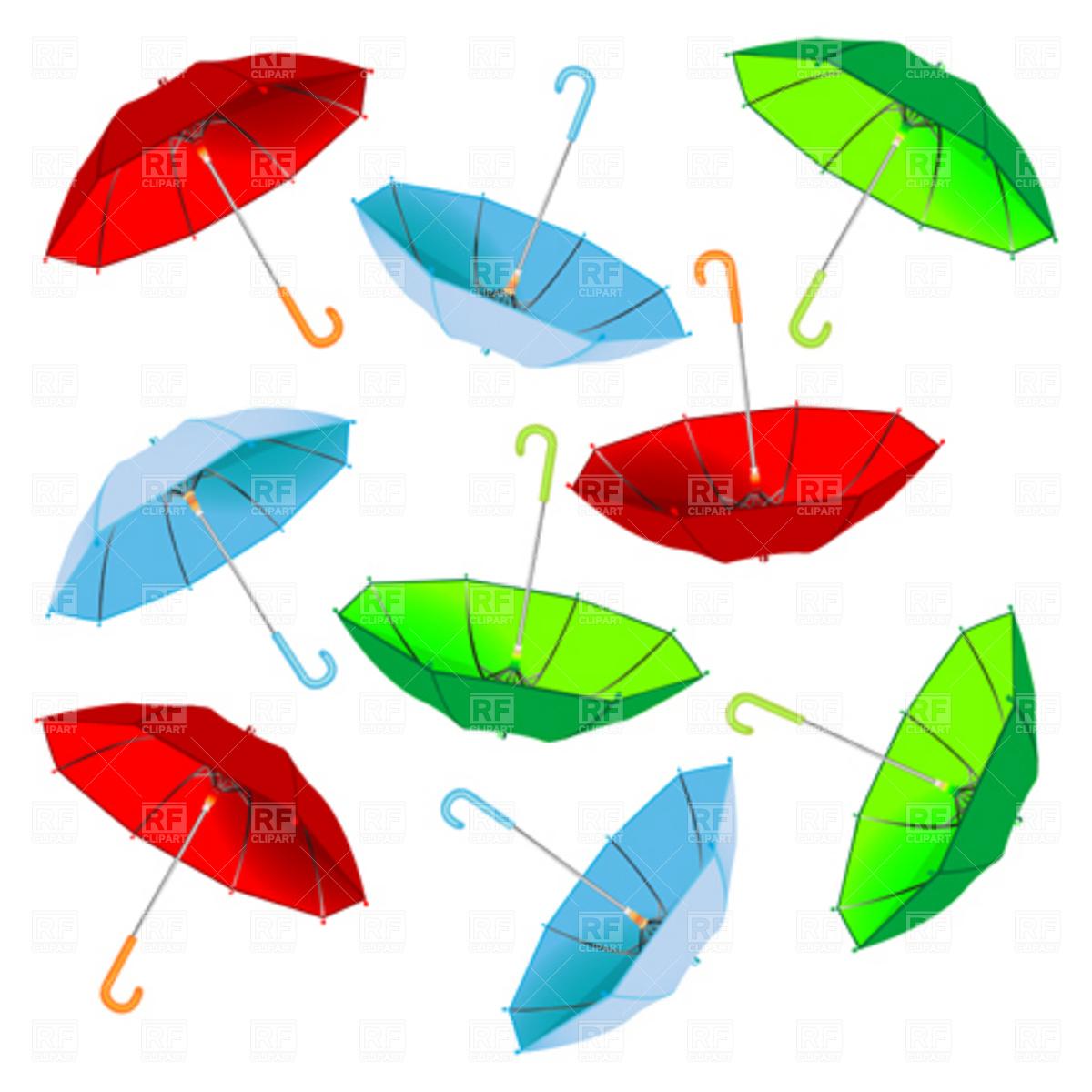 1200x1200 Umbrella Royalty Free Vector Clip Art Image