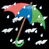 160x160 Abeka Clip Art Umbrella In Rain