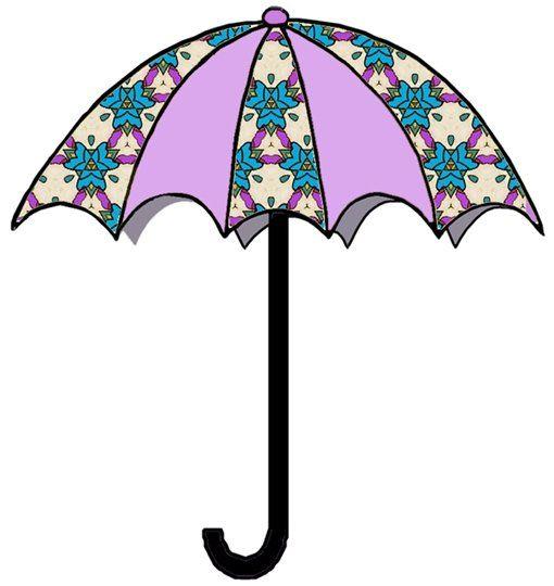 Umbrellas Clipart