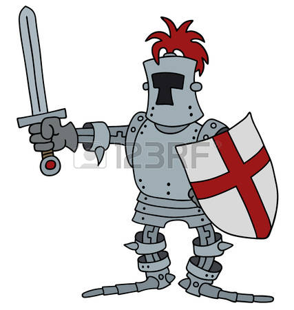 427x450 Knight Clipart Historical