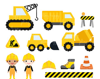 340x270 Construction Clipart Etsy