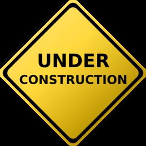 300x300 Under Construction Sign Clip Art
