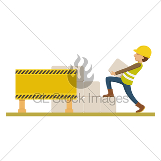 325x325 Rusty Under Construction Sign Gl Stock Images