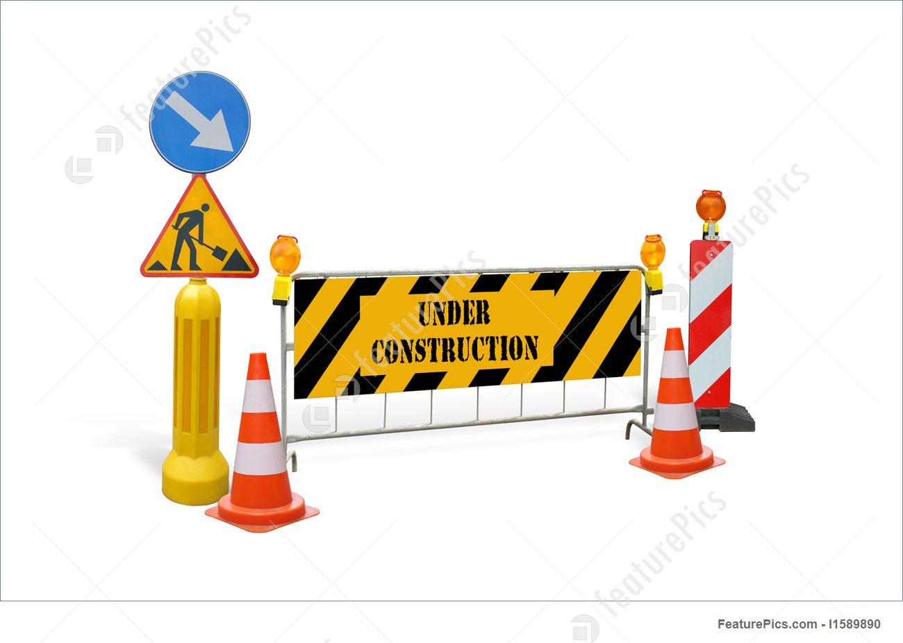 1300x926 Under Construction Stock Image I1589890