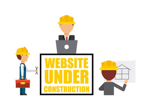 300x218 Under Construction Vectors Royalty Free Stock Image