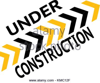 384x320 Under Construction Web Page Worker Hammer Vector Illustration Eps