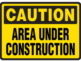 275x208 Construction Signs Clipart