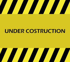 300x263 Rays Background With Under Construction Architecture Royalty Free
