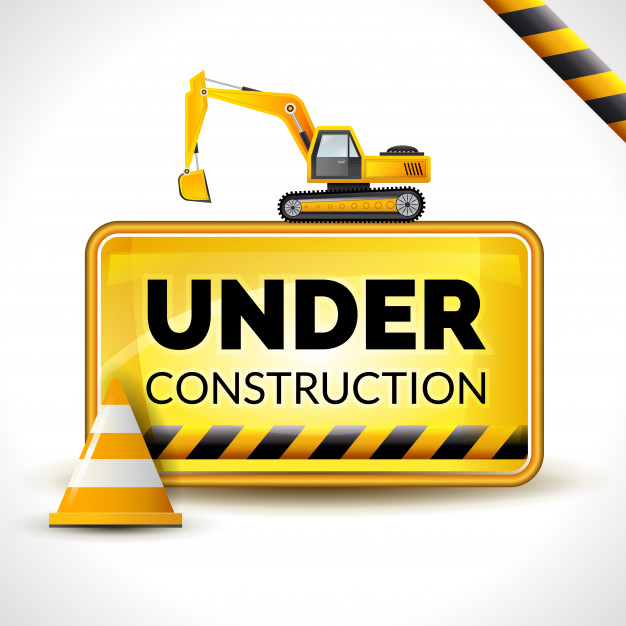 626x626 Under Construction Poster Vector Free Download