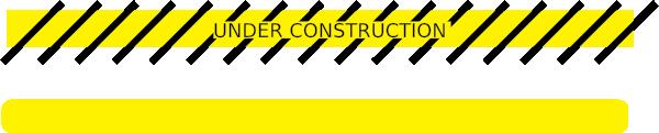 600x121 Under Construction Tape Clip Art