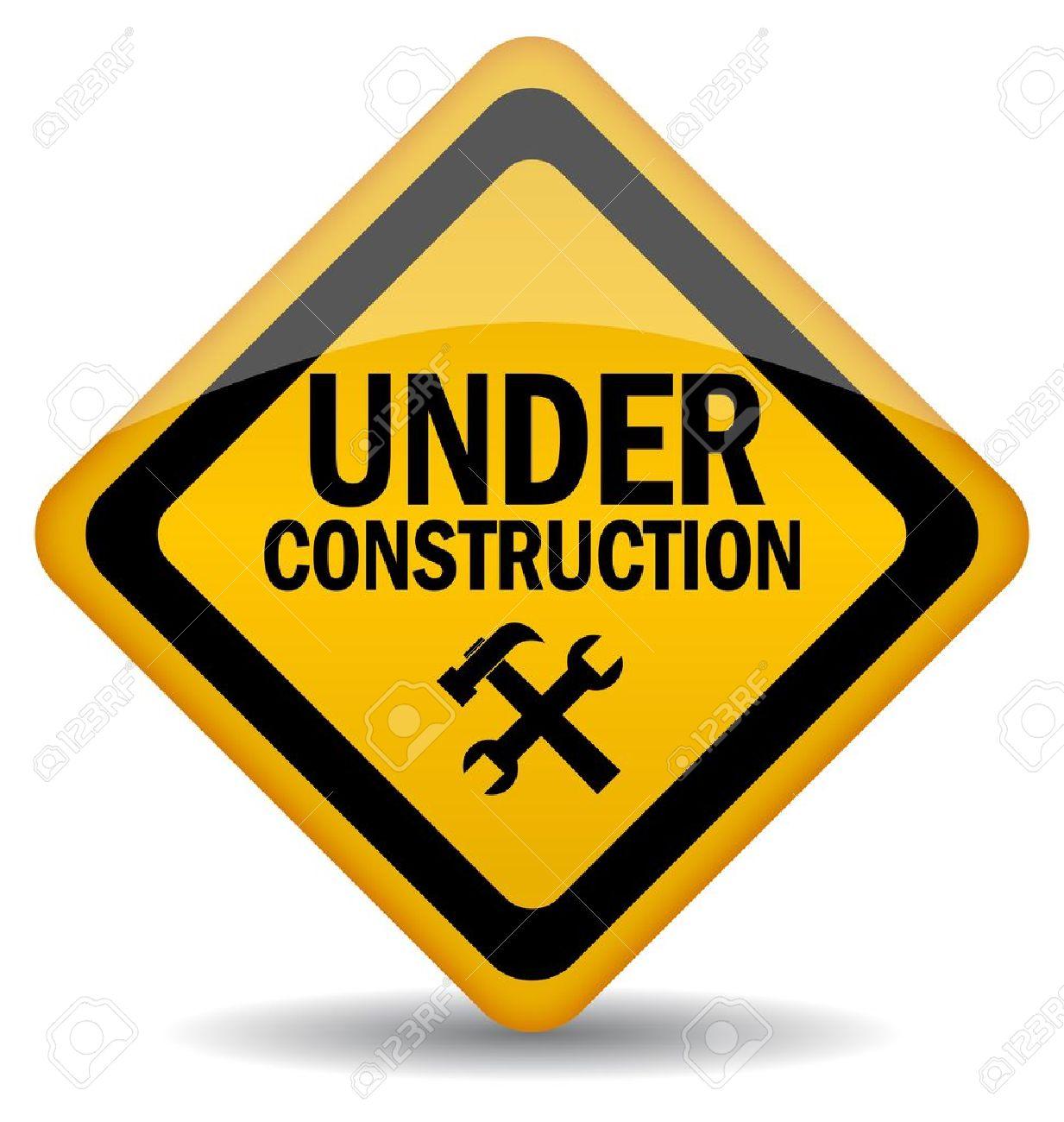 1233x1300 Vector Sign Under Construction Royalty Free Cliparts, Vectors,