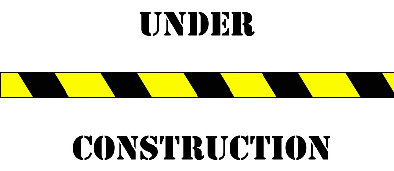 800x349 Under Construction Sign Clipart