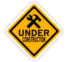 220x200 Under Construction Stickers By Diabolical Redbubble