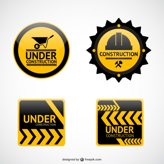 Under Construction Signs Clipart