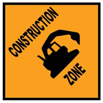 400x400 Construction Signs Clip Art