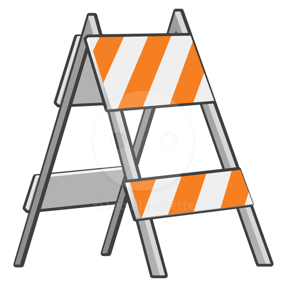 590x590 Free Road Construction Clipart