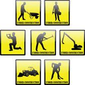 170x170 Royalty Free Excavator Clip Art