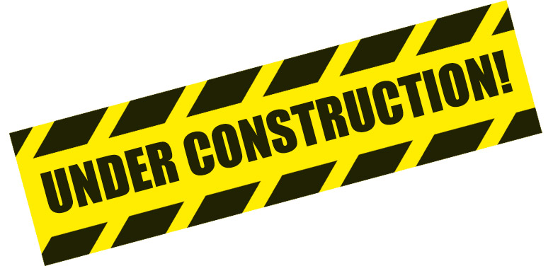 781x376 Under Construction Signs Clipart