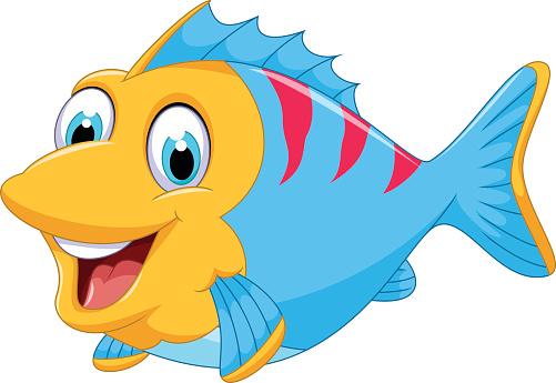 501x345 Cute Fish Clipart