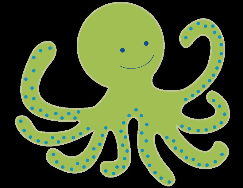 792x612 Octopus Ocean Clipart Sea Digital Clip Art Printable Under The Sea