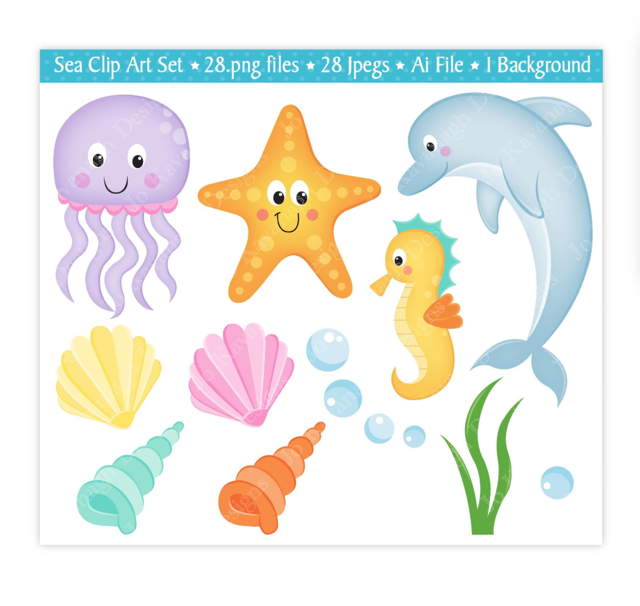 2096x1984 Sea Animals Clip Art,under The Sea Clipart,sea Clip Art,sea