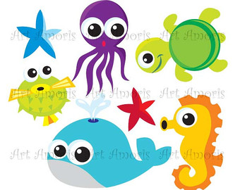 340x270 Under The Sea Diver Fish Under Water Sea Animal Clipart