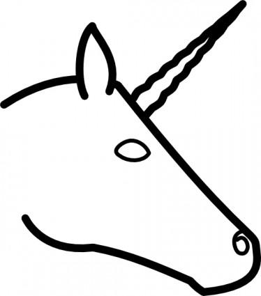 374x425 Free Unicorn Clipart