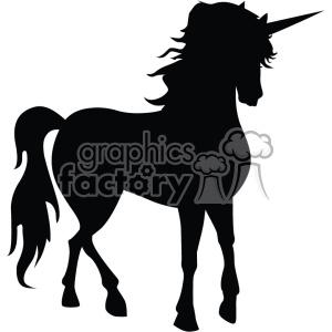 300x300 Royalty Free Unicorn Silhouete Svg Cut File 5 403736 Vector Clip