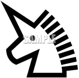 300x297 22 Best Unicornio Images Black And White, Clip Art