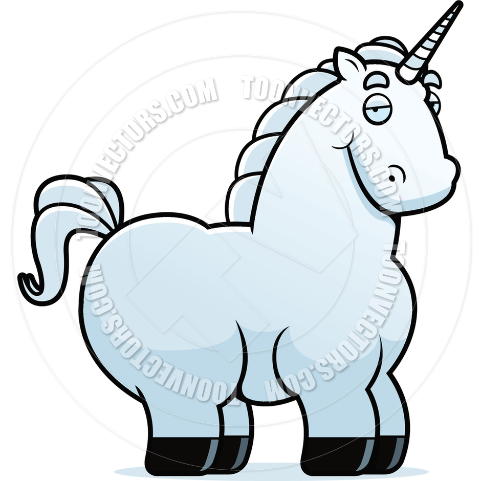 940x940 Cartoon Unicorn By Cory Thoman Toon Vectors Eps