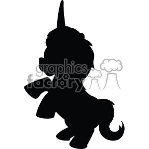 300x300 Royalty Free Unicorn Silhouete Svg Cut File 6 403729 Vector Clip