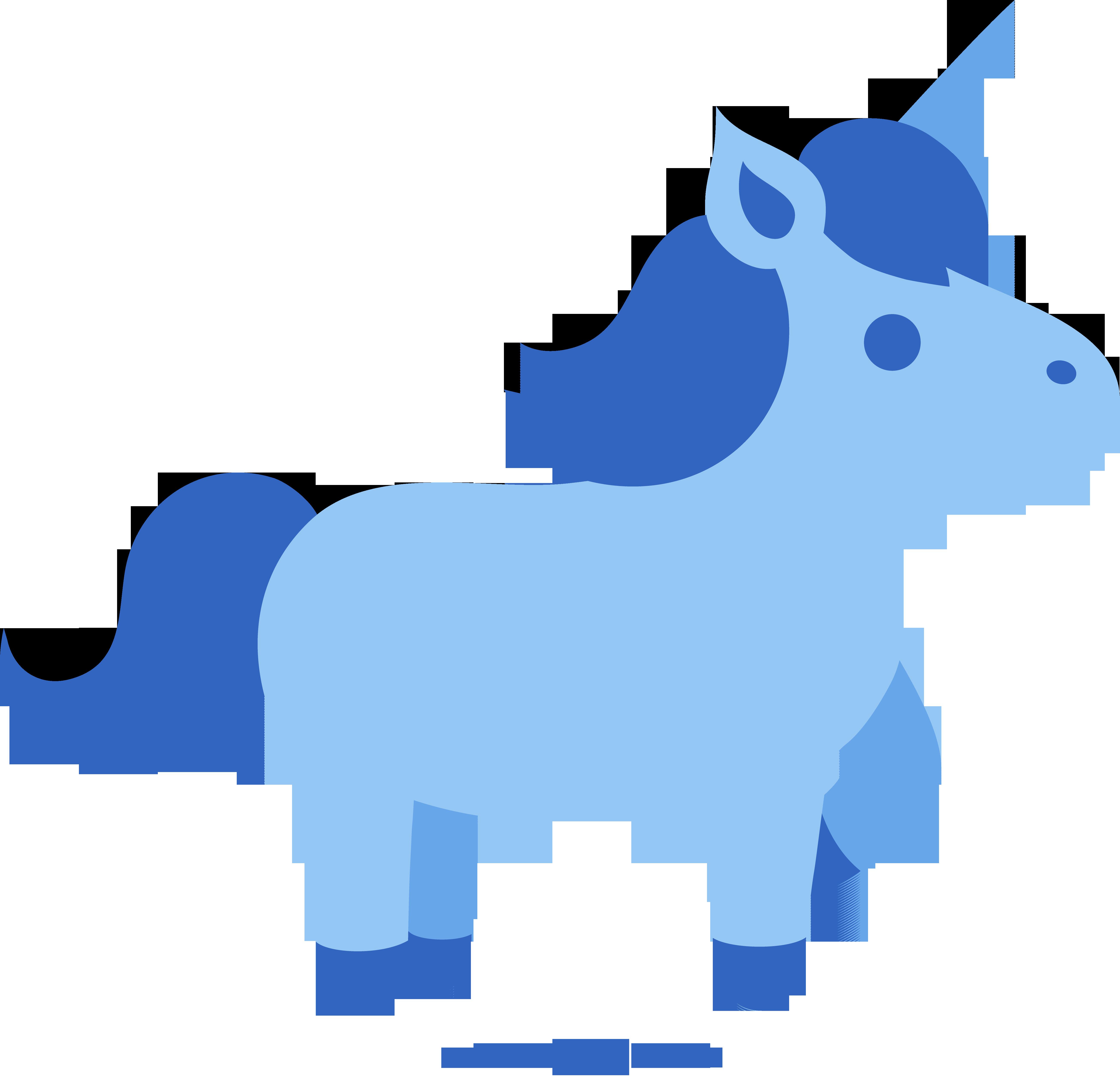5223x5028 Cute Unicorn Clipart