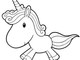 320x240 Coloring Pages Unicorn Sheets New On Ideas Picture