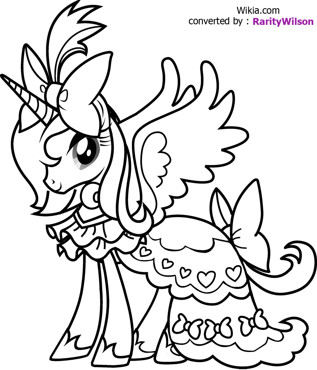 Unicorn Coloring Pages | Free download on ClipArtMag