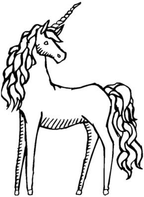 290x398 Unicorn Unicorn Horse Coloring Page, Unicorn Rainbow Coloring