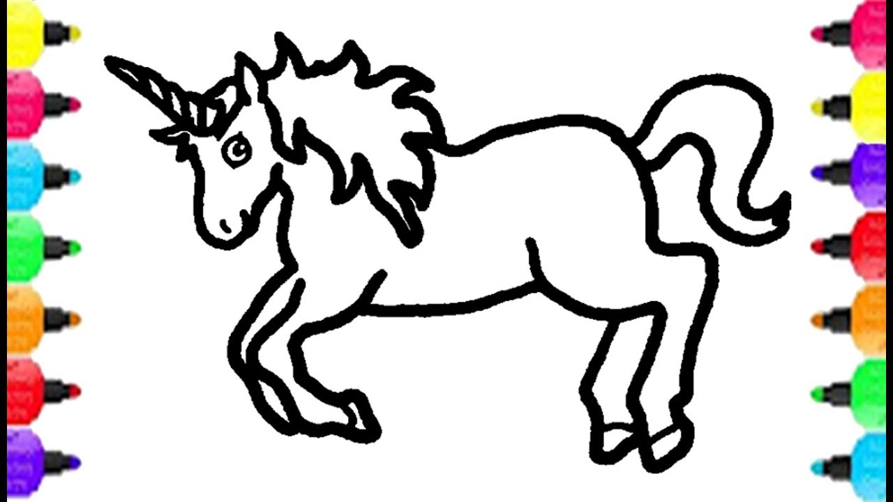 Apollinaire Leanna - Free Coloring Pages: Unicorn Coloring ...