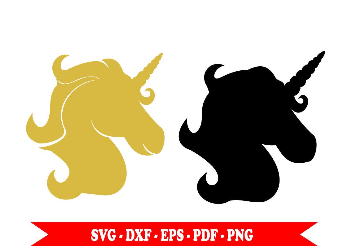 1123x794 Golden Unicorn Unicorn Silhouette Svg Svg Dxf Eps Clip Art