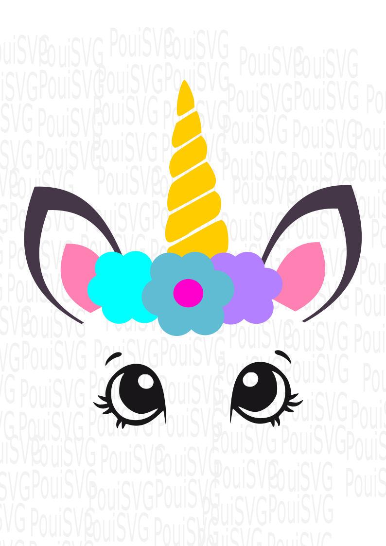 794x1123 Unicorn Svg, Magical Horse Svg,unicorn Head,ice Cream Silhouette