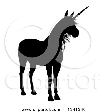 450x470 Clipart Black And White Sketched Fantasy Winged Unicorn Horse