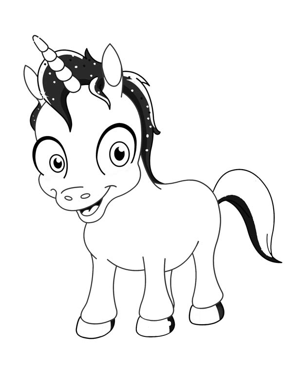 612x792 Drawings Of Unicorns Many Interesting Cliparts