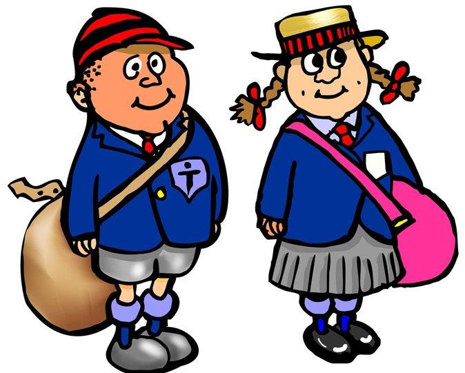 674x541 School Uniform Clipart