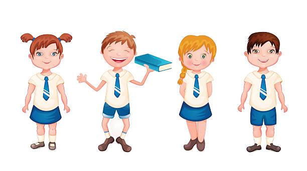 612x342 Uniform Clipart School Child
