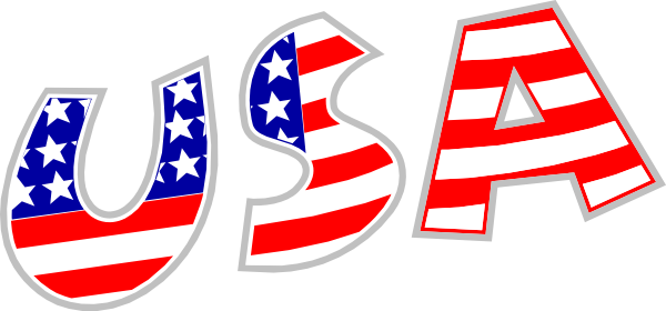 600x280 United States Clipart Blank