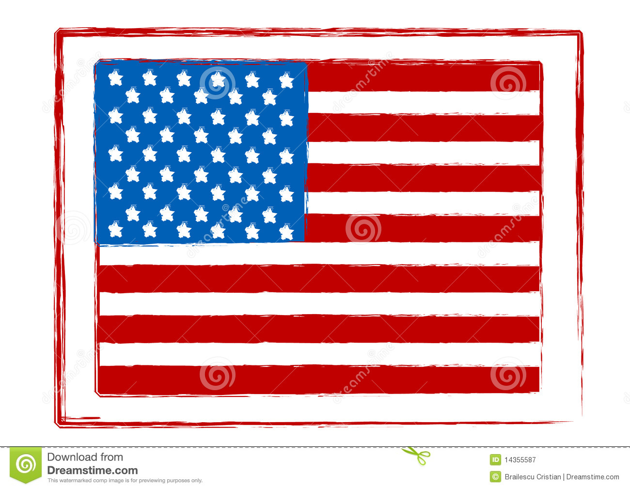 1300x1011 American Flag Clipart Stamp