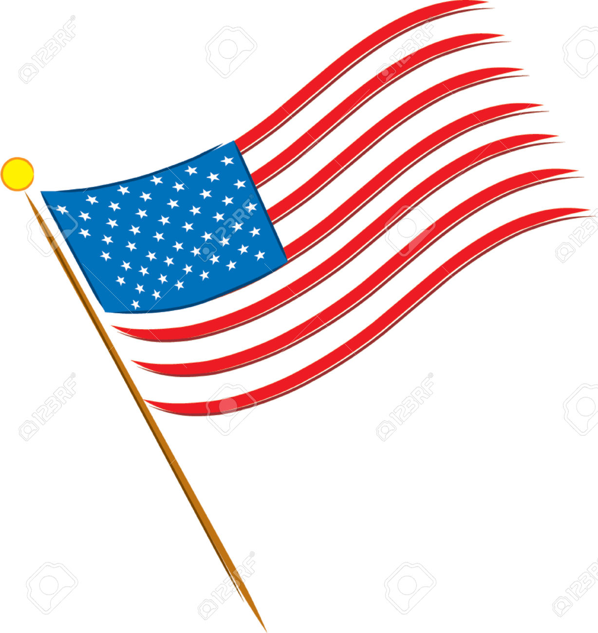 1228x1300 Flag Of United States Clipart