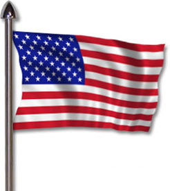 246x276 United States Flag Clipart