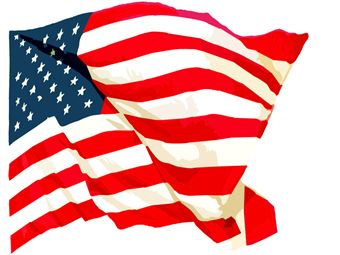 340x255 Us History Clipart American Flag